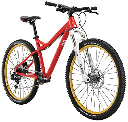 "Diamondback Bicycles LUX Comp Women's Hardtail Mountain Bike, Red, 17""/Medium"