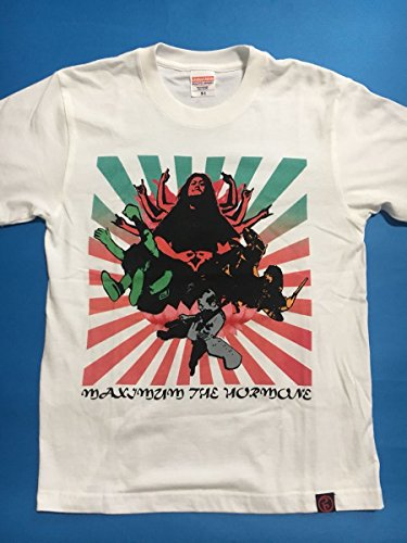 マキシマムザホルモン 観音Tシャツ S バンドT メタル ヘビーメタル フェス 2018 ライブ ツアー デッドストック レディースの商品画像