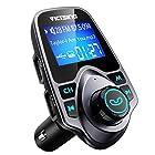 VicTsing FM Transmitter, Bluetooth FM Transmitter Radio Adapter Car Kit With 5V 2.1A