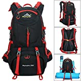 Hiking Backpack, 50L Waterproof Huwaijianfeng Backpack...