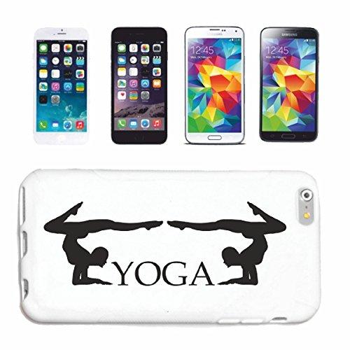 """cas de téléphone iPhone 7S """"YOGA FITNESS GYM GYM YOGA EXERCICES YOGA CLUB Bauchweg EXERCICES DE FORMATION"""" Hard Case Cover Téléphone Covers Smart Cover pour Apple iPhone en blanc"""
