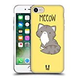 Head Case Designs Maine Coon Kitty Cats Soft Gel Case for Apple iPhone 5 / 5s / SE