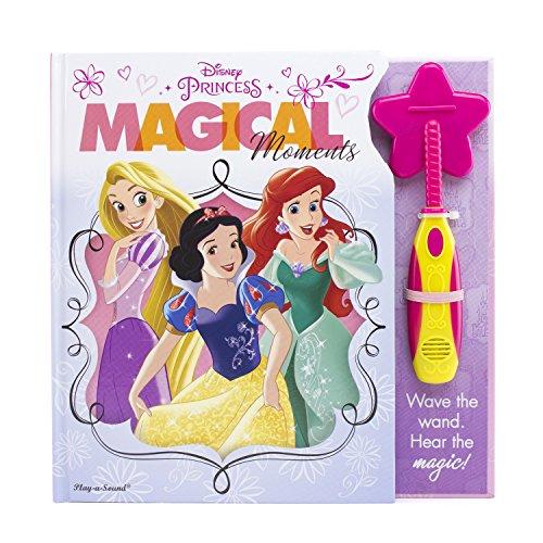 - Disney Princess- Magical Moments Interactive Magic Wand and Book Set - PI Kids
