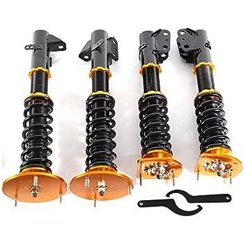 Coilovers Suspension Kits Suspension Coil Spring Shock Strut Adjustable Height fit for 2003-2005 Dodge Neon SRT-4 Sedan 4-Door 2.4L