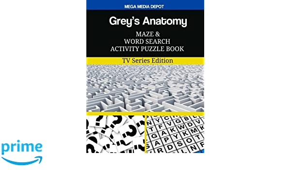 Grey\'s Anatomy Maze and Word Search Activity Puzzle Book: TV Series ...
