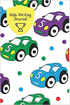 Kids Writing Journal: Cars Design Children's Lined Journal With Drawing Boxes | Draw, Write, Doddle, Diary, Jotter, Ruled | 100 Pages | 6�X9� Small ... Boys & Girls (Kids Collection) (Volume 19)