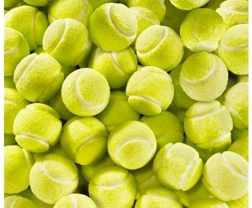 Vidal Tennis Bubble Gum Gumballs - Unwrapped - 2.2 Pound Bag ()