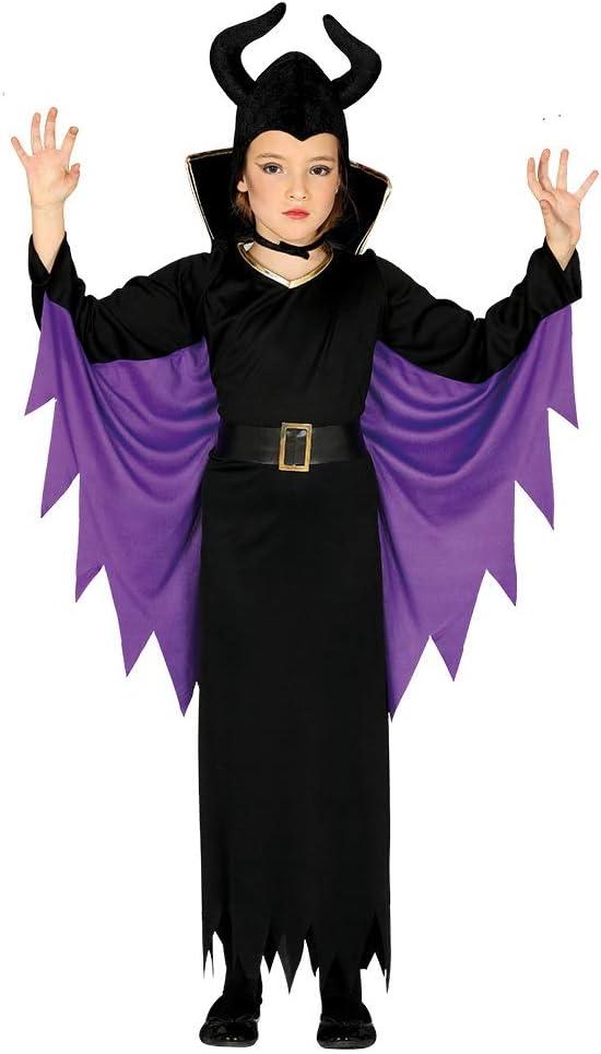 Guirca 87719 - Disfraz de Reina Maléfica para niña de 7/9 años ...