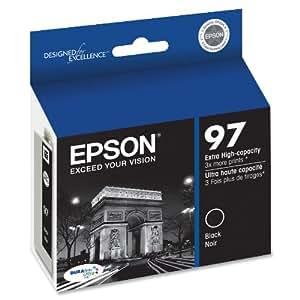 Epson DURABrite T097120 Ultra 97 Extra High-capacity Inkjet Cartridge -Black