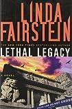 Lethal Legacy, Linda Fairstein, 0385523998