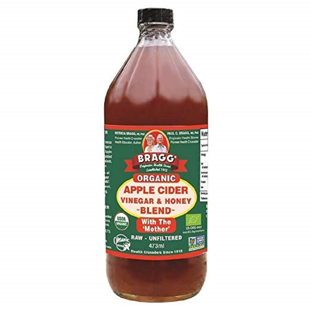 Amazon.com : Bragg Organic Apple Cider Vinegar & Honey