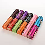 6goodeals Lipstick Case MULTI-SET Silky Satin Fabric Cosmetic Case with Mirror, Various Design ~ USA SELLER!! (12)