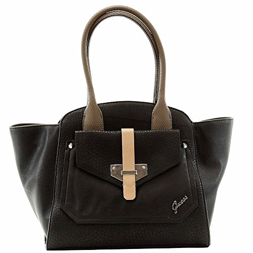 Guess Women's Quinn Privy Black Tote ()