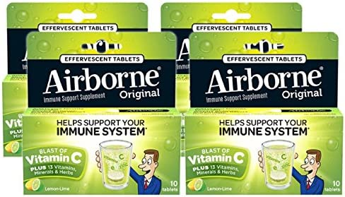 Airborne Lemon Effervescent Tablets count product image
