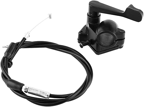 Keenso Motorrad 22mm Daumengas Kabel Gaspedal Griff Baugruppe Für Motorrad Atv Dirt Bike Auto