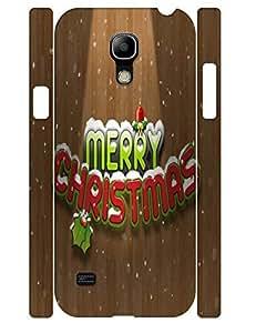 3D Print Custom Fashion Monogram Pattern Eco TPU Phone Cover Case for Samsung Galaxy S4 Mini I9195
