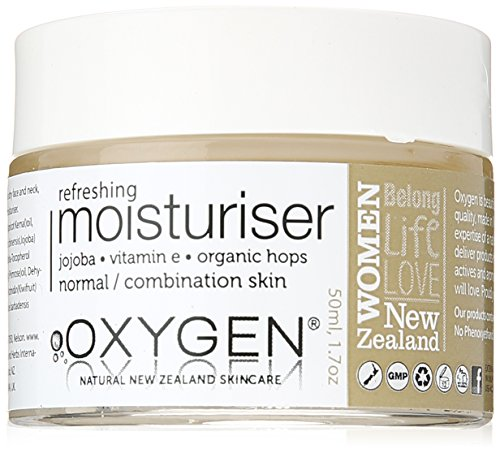 Oxygen Refreshing Moisturiser for Normal/Combination Skin, 1.7 Ounce, 6 Count