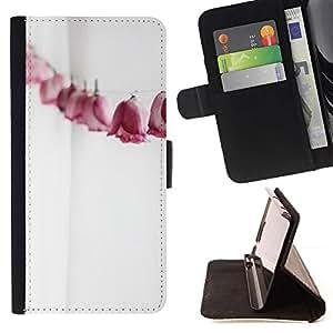 For Samsung Galaxy E5 E500 Case , Arte Papel arrugado blanco limpio- la tarjeta de Crédito Slots PU Funda de cuero Monedero caso cubierta de piel
