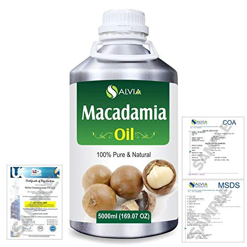Macadamia (Macadamia Integrifolia) Natural Oil 5000ml/169 fl. oz. Express Shipping