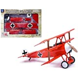 New NEW RAY CLASSIC WWI - RED SKY PILOT CLASSIC PLANES MODEL KIT - FOKKER DR.1 Diecast Model By NEW RAY TOYS by New Ray