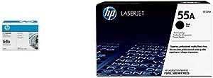 HP 64A | CC364A | Toner Cartridge | Black & 55A | CE255A | Toner Cartridge | Black