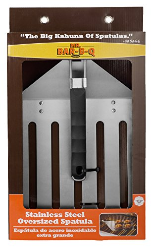 Mr. Bar-B-Q 02538XOB Stainless Steel Oversized Spatula