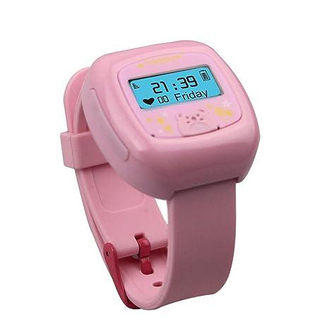 KKmoon Reloj Inteligente GPS Reloj MTK6260 OLED Mini Perseguidor del GPS del Reloj para el iPhone ...
