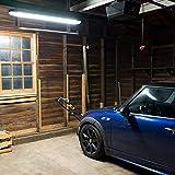 4FT LED Vapor Tight Light, 40W Vapor Proof Parking