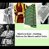 Châles de tricot-tricot pour châles et étoles