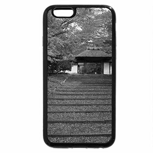 iPhone 6S Plus Case, iPhone 6 Plus Case (Black & White) - Anrakuji Temple