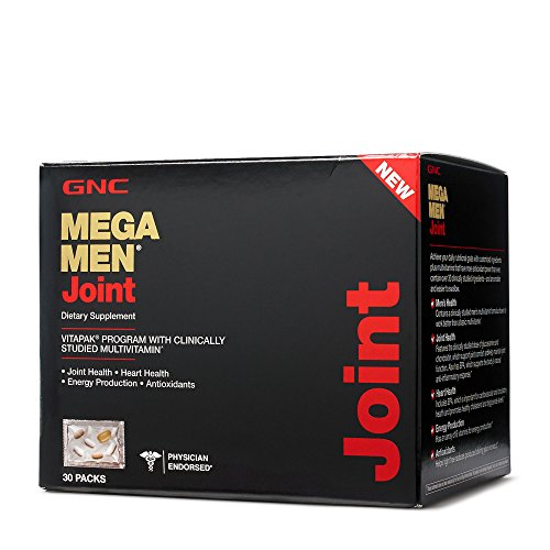 Gnc Mega Men Joint Dietary Supplement  30 Count