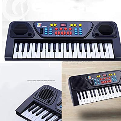 Detailorpin 37-Keys Microphone Keyboard Children's Musical Toys Early Education: Toys & Games