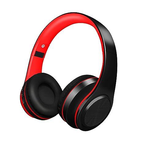 Alitoo Auriculares Inalámbricos sobre el oído cancelación de ruido, Cascos Bluetooth Plegable con Micrófono Manos