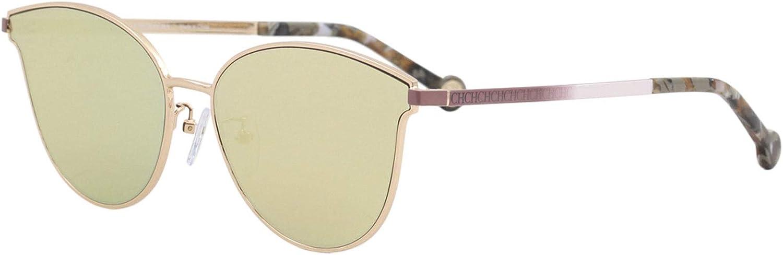 Carolina Herrera Gafas de Sol Mujer SHE104598FCX (Diametro 59 mm), Dorado, 59 Unisex-Adult: Amazon.es: Ropa y accesorios