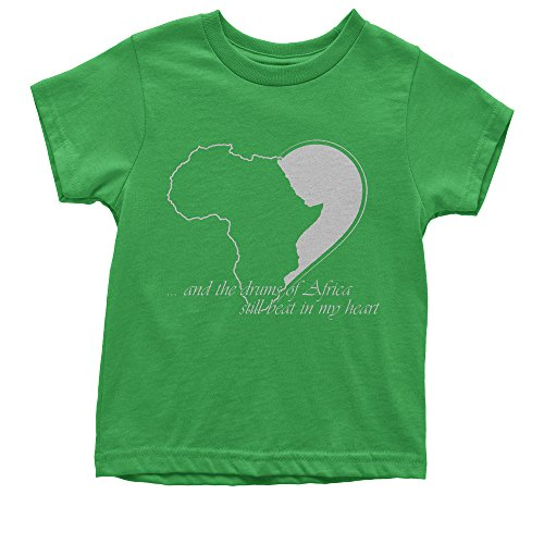 Youth Drums Of Africa Quote Black History Pride Culture T-Shirt X-Large Kelly Green by FerociTees