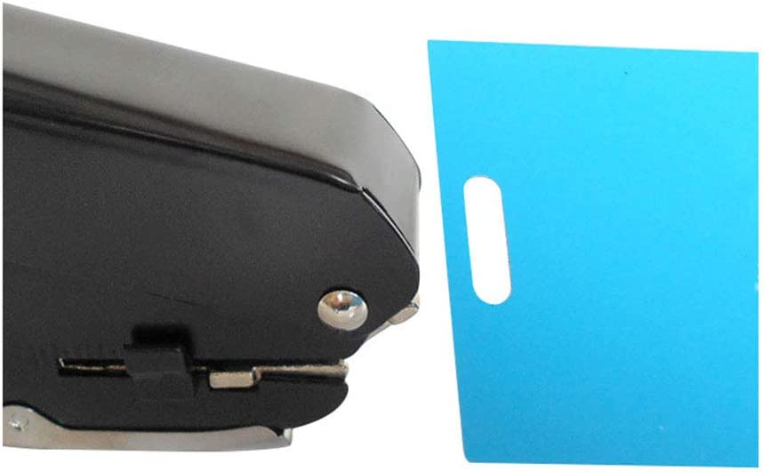 Durable Black Single Hole Punching Hand Hole Punching Tool with Non-Slip Base Paper Punch