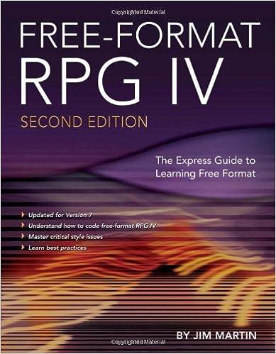 Free-Format RPG IV