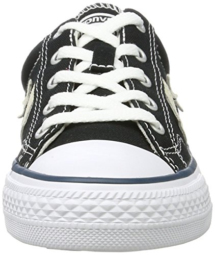 Black Player Milk Shoes Unisex Black Converse Star 8 Fitness Black 5 009 UK Adults' qYUwp