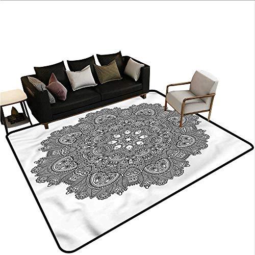 Mosaic Flooring Canvas - Lotus,Home Bedroom Floor Mats 80
