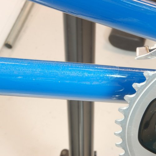 Wheels Manufacturing Chainstay Protector for Large Chainstays Clear