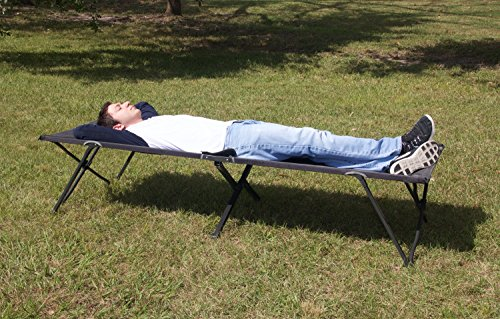 KingCamp Camping Cot for Adults, Lightweight Camping Bed, Sturdy Aluminum Folding Bed with Carry Bag, Portable, Durable for Hiking, Camping, Travel, Hunting, Indoor Emergencies Military Style