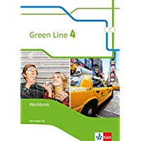 Green Line 4: Workbook mit Audio-CD Klasse 8 (Green Line. Bundesausgabe ab 2014)