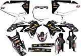 Senge Graphics 2005-2014 Suzuki DRZ 400SM Podium White Graphics Kit