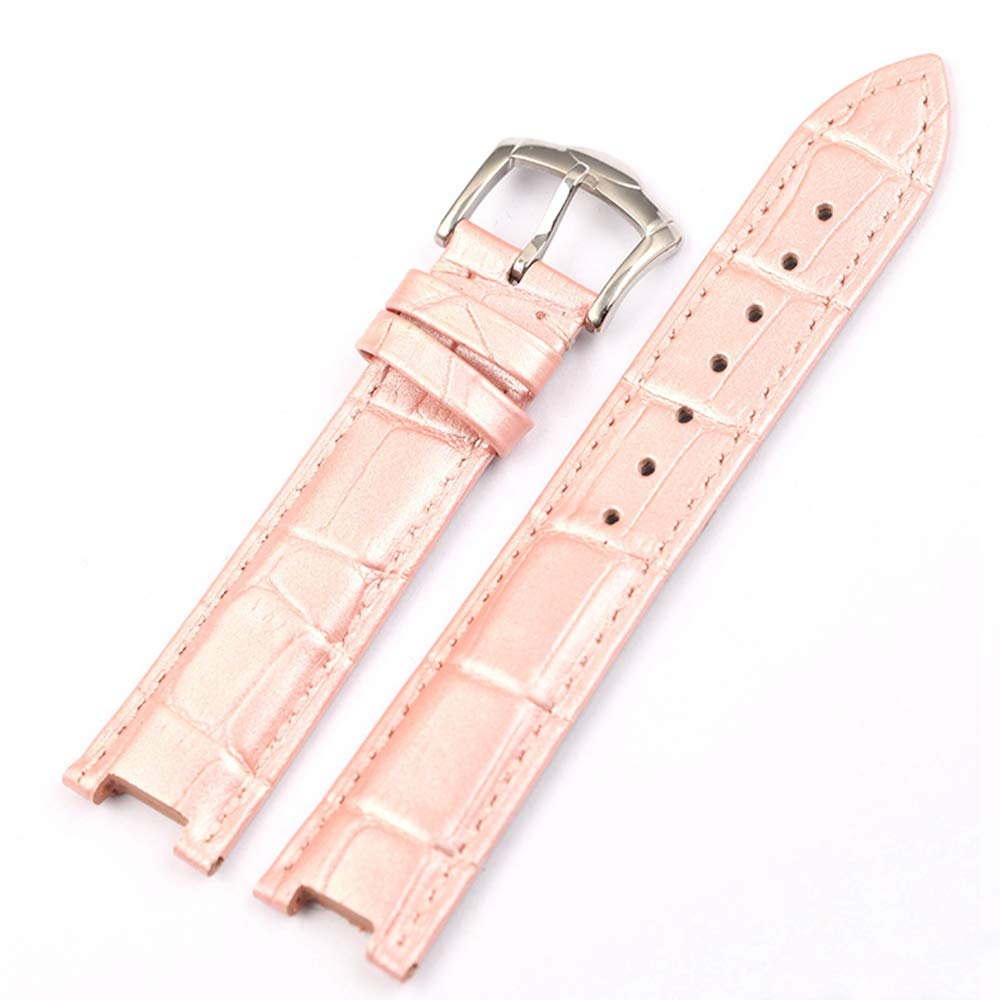 16 20mm Leather Watch Strap for LVF-Love&Fortune Series Ladies Girls Watch Wristband Pin Buckle