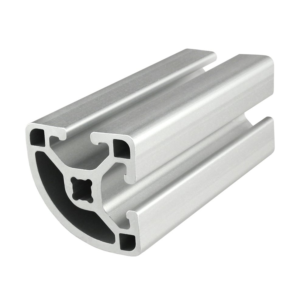 80/20 Inc., 1517-LS, 15 Series, 1.5'' x 1.5'' Lite Smooth T-Slotted Quarter Round Extrusion x 97''