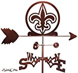 Hand Made FLEUR DE LIS FLAT POST Mount Weathervane ~NEW~ by SWEN Products