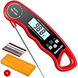 GDEALER DT09 Waterproof Digital Instant Read Meat Thermometer with 4.6