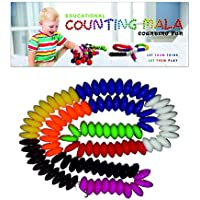 Ratna'S Counting Mala Pvc Containing Colorful & Attractive Beads For Childerns
