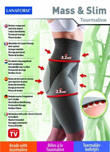 Anti Celulitis Pantalones Cortos De Viscosa de bambú y turmalina® Tamaño L 42/44conocido de Gala