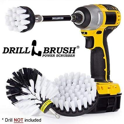 Drillbrush Juego de 3 Piezas de Herramientas de Limpieza para ...